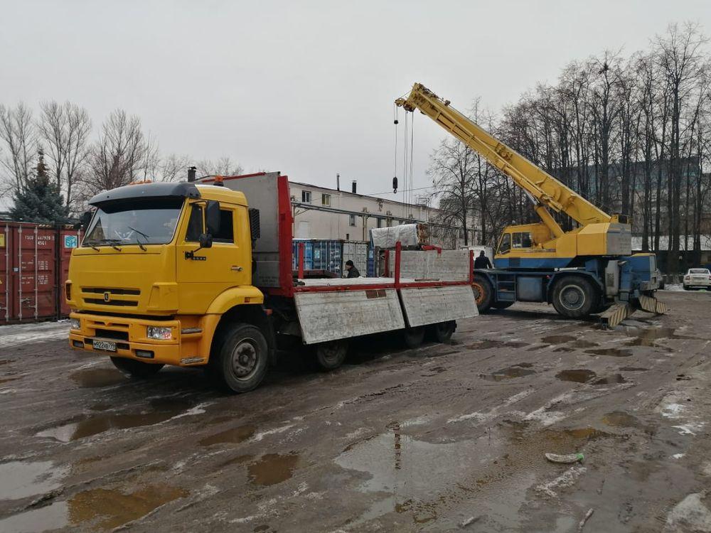 Бортовой камаз 20 тонн в работе - 22.12.20